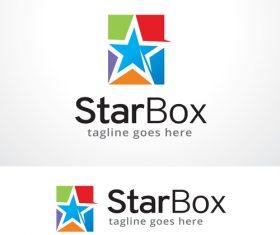 Star Box logo vector