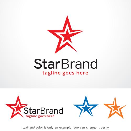 Star Brand logo vector