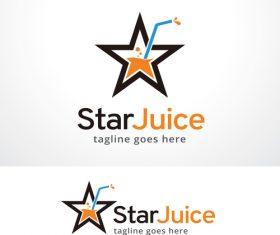 Star Juice logo vector