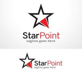 Star Point logo vector