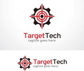 Target Tech logo vector
