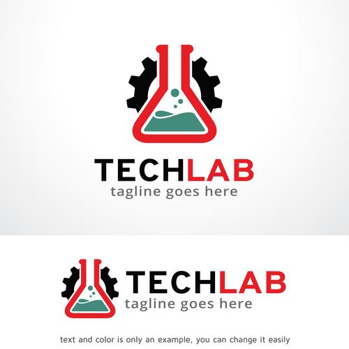 Tech Lab logo vector