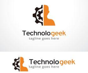 Technologeek logo vector