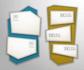 Text design vector