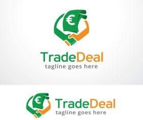 Trade Deal logo vector