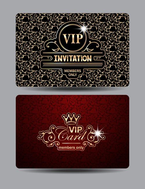 VIP Invitation Vector
