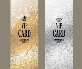 VIP card members only invitation vector