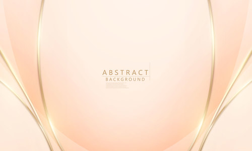Warm color abstract background vector