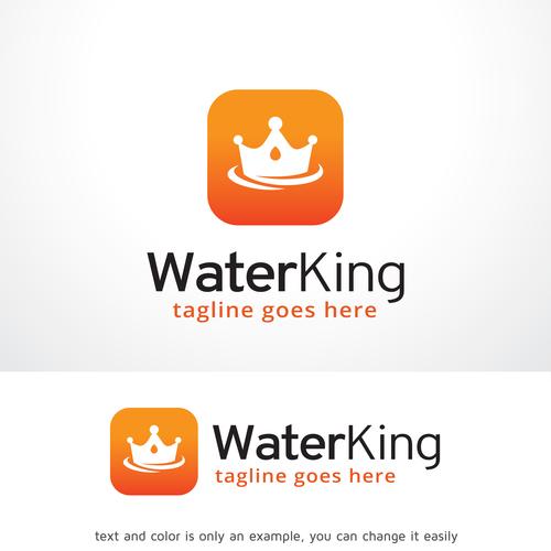 Water King logo vector