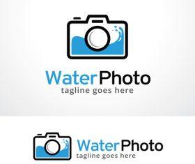 Water Photo logo vector