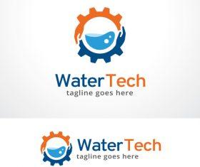 Water Tech logo vector