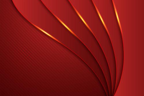 Wavy lines background vector