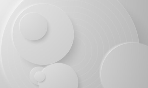White round abstract background vector