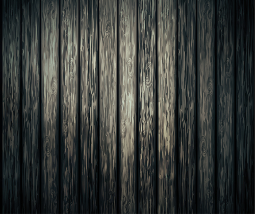 Wood plank pattern background vector