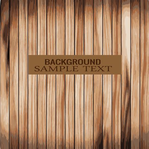 Wooden floor seamless background vector