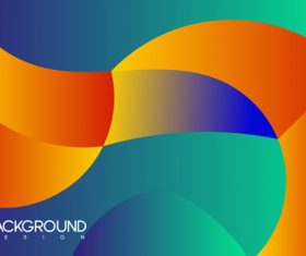 Abstract colorful puzzle background vector