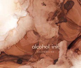 Alcohol ink background vector