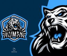 Auman sport logo vector
