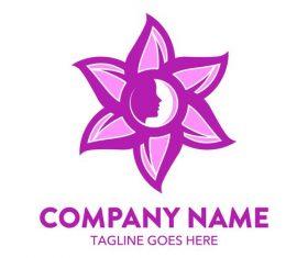 Beauty logo design vector