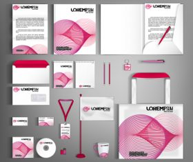 Black white background line business template vector