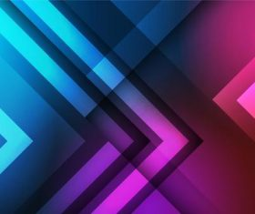 Blue and purple gradient abstract background vector