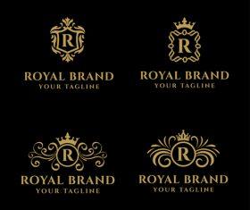 Bundle Royal Brand Logo Vector