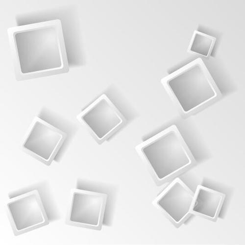 Checkered frame abstract background vector