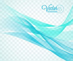 Cyan lines abstract background vector