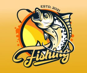 Design out fishing vector