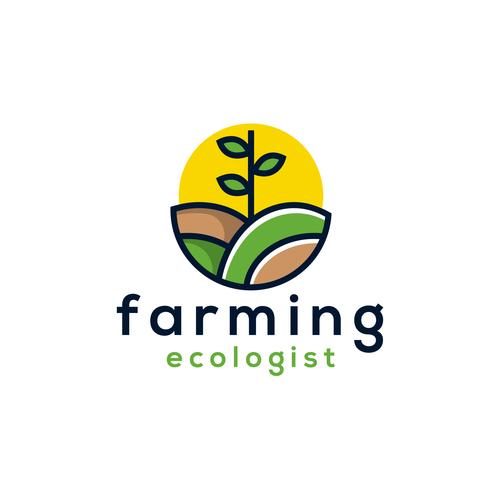 Farming logo vector