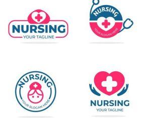 Health and health logo vector