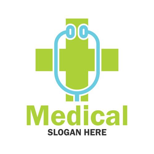 Health design logo vector
