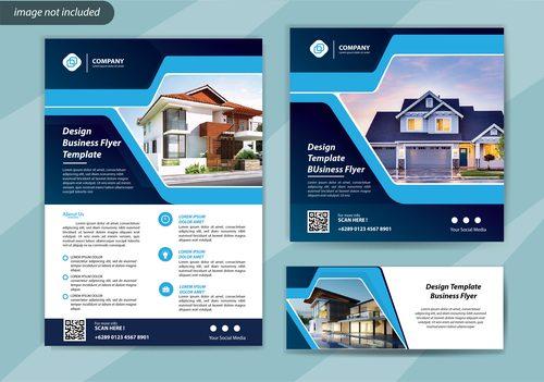 House sale flyer vector