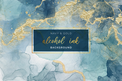 Marble gold stone vector texture background