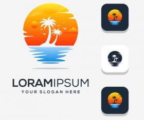 Modern logo vector design