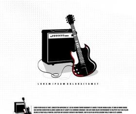 Music festival logo vector