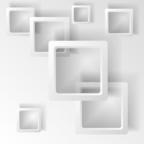 Overlay frame abstract background vector
