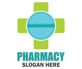 Pharmacy design logo vector