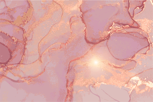 Pink marble texture background vector