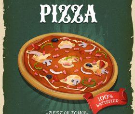Pizza flyer vector