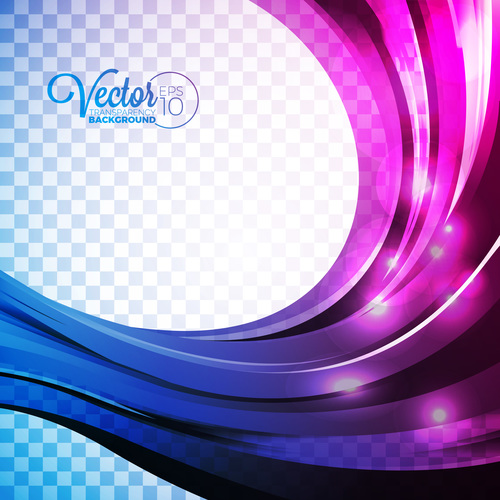 Purple and blue abstract background vector