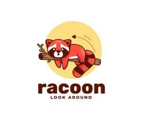 Racoon vector