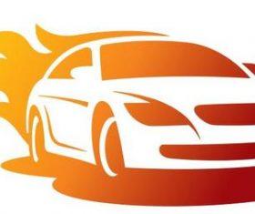 Savage car logo vector