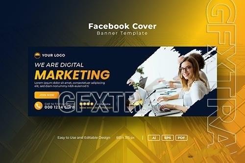 Social media banners vector