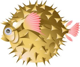 Spinefish vector