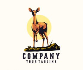 Stag logo vector