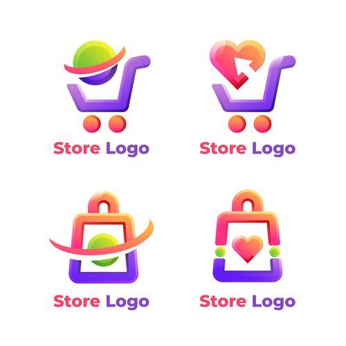 Store logo vector