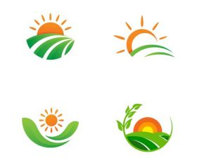 Sunrise logo vector