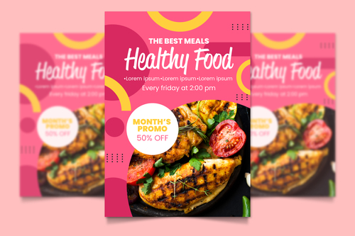 The best meals healthy food vector