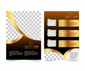 Unique cover design vector